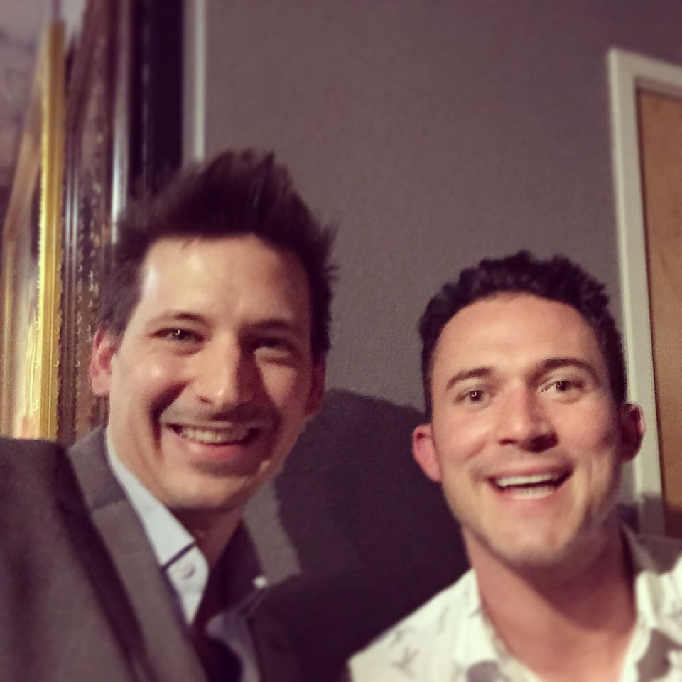 Possibly the best comedic magician Justin Willman with Jordon Taylor Magic watch him! http://x.co/6ljkj #magic #azmagician