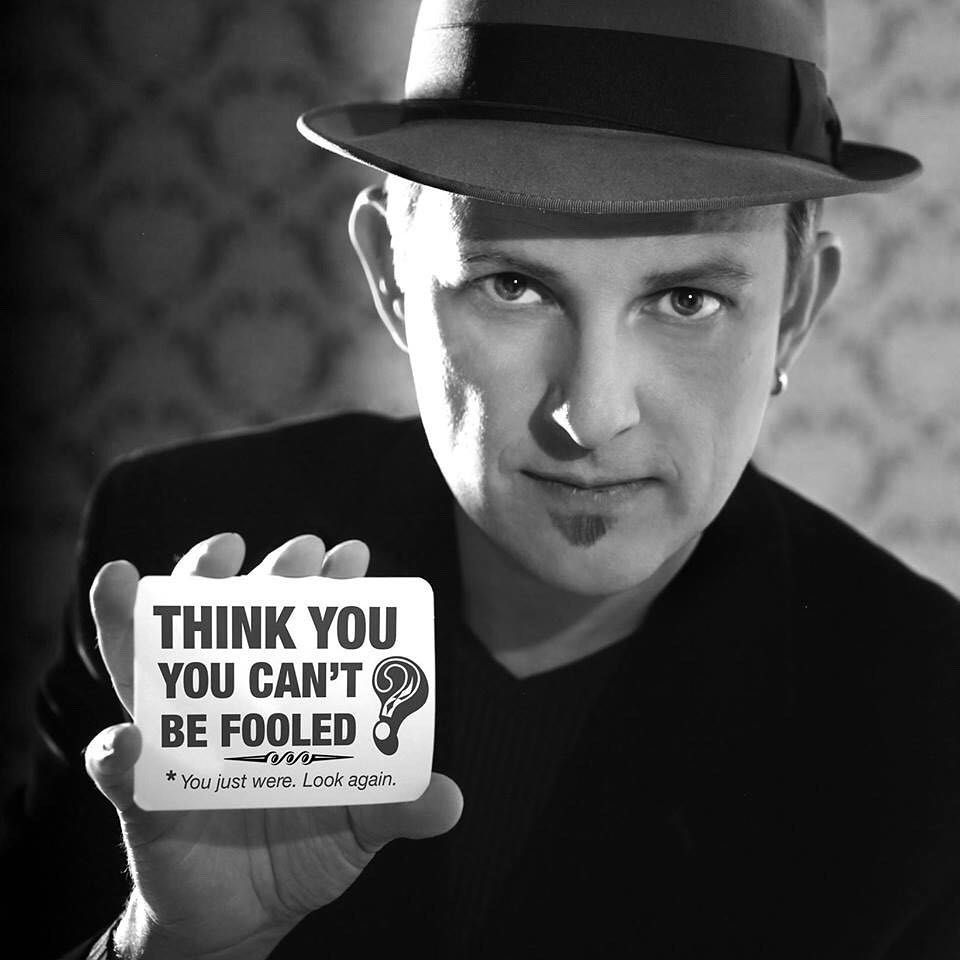Apollo Robbins gentleman thief. A magician dedicated to pick pocketing and misdirection. Watch his TED video: https://goo.gl/Ze7kWw #magic