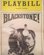This is a playbill I came across for Harry Blackstone Jr. Performing at the Majestic Theater on Broadway in the summer of 1980. #magic